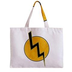 Lightning Bolt Zipper Mini Tote Bag