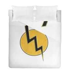 Lightning Bolt Duvet Cover Double Side (full/ Double Size)