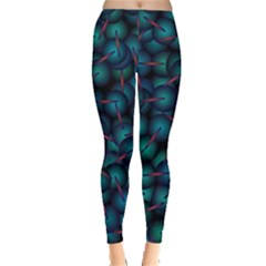 Background Abstract Textile Design Leggings  by Nexatart