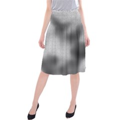 Puzzle Grey Puzzle Piece Drawing Midi Beach Skirt