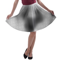 Puzzle Grey Puzzle Piece Drawing A Line Skater Skirt
