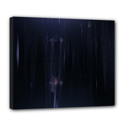 Abstract Dark Stylish Background Deluxe Canvas 24  X 20