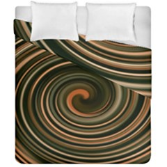 Strudel Spiral Eddy Background Duvet Cover Double Side (california King Size)