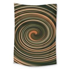 Strudel Spiral Eddy Background Large Tapestry