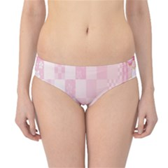 Sakura Flower Floral Pink Star Plaid Wave Chevron Hipster Bikini Bottoms