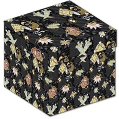 Traditional Music Drum Batik Storage Stool 12   by Mariart