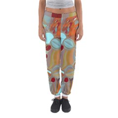 Liquid Bubbles Women s Jogger Sweatpants by theunrulyartist