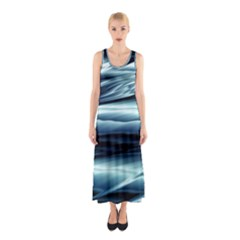 Texture Fractal Frax Hd Mathematics Sleeveless Maxi Dress