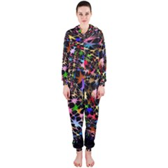 Network Integration Intertwined Hooded Jumpsuit (ladies)