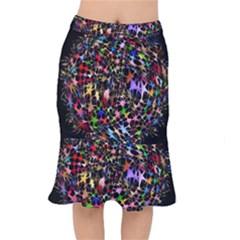 Network Integration Intertwined Mermaid Skirt by Nexatart