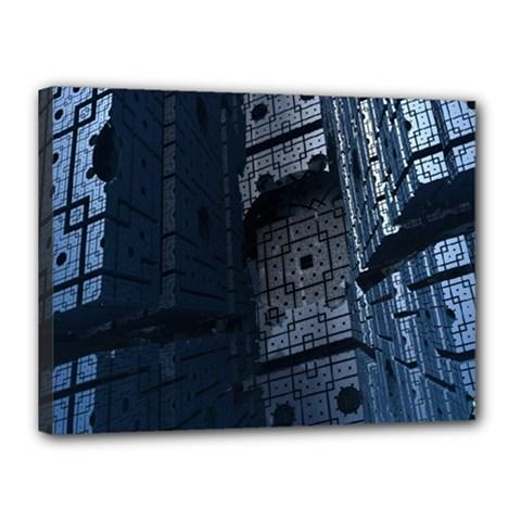 Graphic Design Background Canvas 16  X 12  by Nexatart
