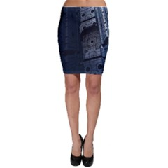 Graphic Design Background Bodycon Skirt