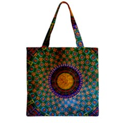Temple Abstract Ceiling Chinese Grocery Tote Bag