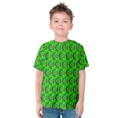 Abstract Art Circles Swirls Stars Kids  Cotton Tee