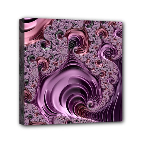 Abstract Art Fractal Art Fractal Mini Canvas 6  X 6