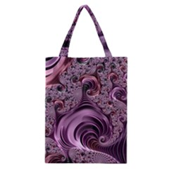 Abstract Art Fractal Art Fractal Classic Tote Bag by Nexatart