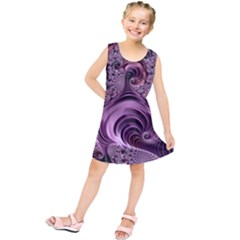Abstract Art Fractal Art Fractal Kids  Tunic Dress