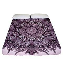 Sacred Art Shaman Shamanism Fitted Sheet (queen Size) by Nexatart
