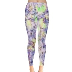 Softly Floral B Leggings  by MoreColorsinLife