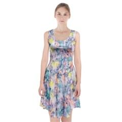 Softly Floral C Racerback Midi Dress by MoreColorsinLife