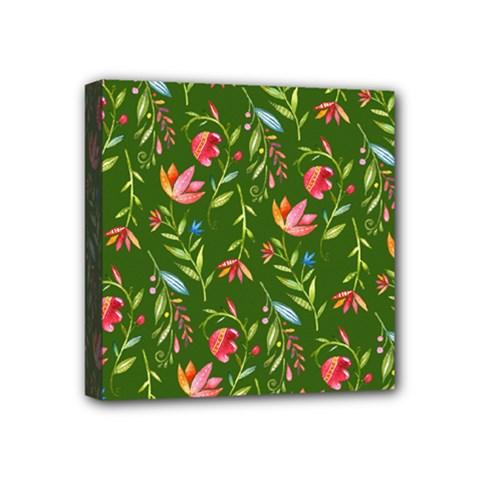 Sunny Garden I Mini Canvas 4  X 4  by tarastyle