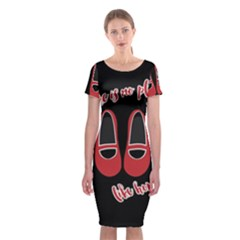 There Is No Place Like Home Classic Short Sleeve Midi Dress