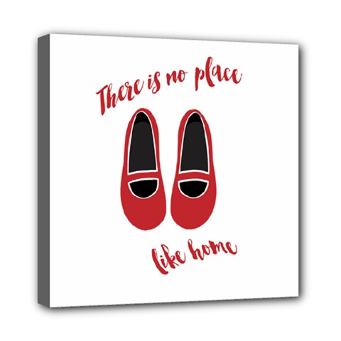 There Is No Place Like Home Mini Canvas 8  X 8  by Valentinaart
