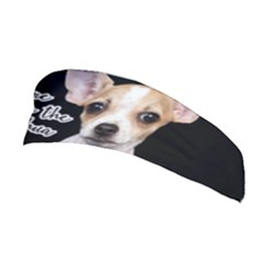 Chihuahua Stretchable Headband by Valentinaart