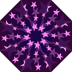 Background With A Stars Folding Umbrellas by Nexatart