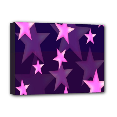 Background With A Stars Deluxe Canvas 16  X 12