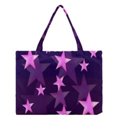 Background With A Stars Medium Tote Bag by Nexatart