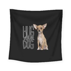 Chihuahua Square Tapestry (small) by Valentinaart