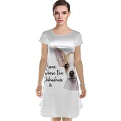Chihuahua Cap Sleeve Nightdress by Valentinaart