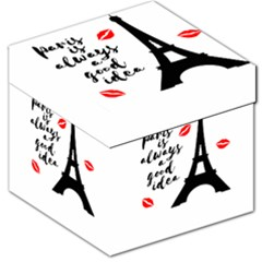 Paris Storage Stool 12   by Valentinaart