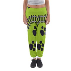 Green Prints Next To Track Women s Jogger Sweatpants by Nexatart