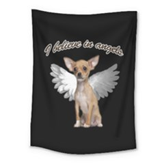 Angel Chihuahua Medium Tapestry by Valentinaart