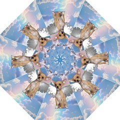 Angel Chihuahua Folding Umbrellas by Valentinaart
