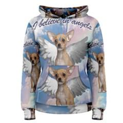 Angel Chihuahua Women s Pullover Hoodie by Valentinaart