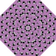 Pug Dog Pattern Folding Umbrellas by Valentinaart