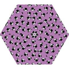 Pug Dog Pattern Mini Folding Umbrellas by Valentinaart