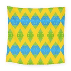 Rhombus Pattern          Fleece Blanket by LalyLauraFLM