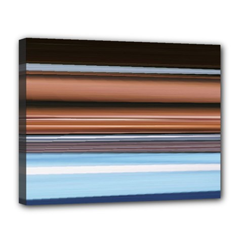 Color Screen Grinding Canvas 14  X 11  by Nexatart