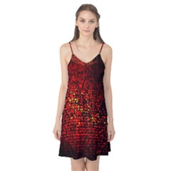 Red Particles Background Camis Nightgown