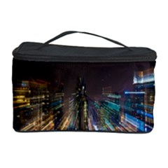 Frozen In Time Cosmetic Storage Case by Nexatart