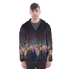 Frozen In Time Hooded Wind Breaker (men)