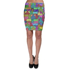 Neighborhood In Color Bodycon Skirt