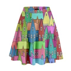 Neighborhood In Color High Waist Skirt