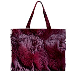 Texture Background Zipper Mini Tote Bag