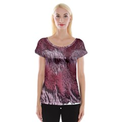Texture Background Women s Cap Sleeve Top by Nexatart