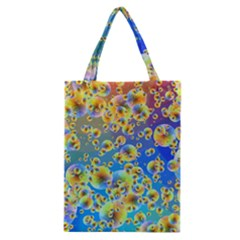 Color Particle Background Classic Tote Bag
